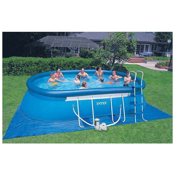 Oval Frame Pool Set