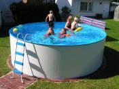 artikelausgabe, badepool, die seite für den wasserspass, Garten und Bauen